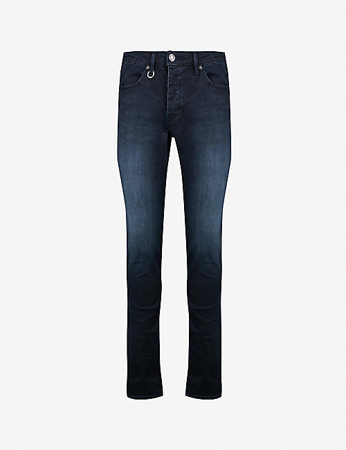 NEUW: Iggy faded skinny stretch-denim jeans