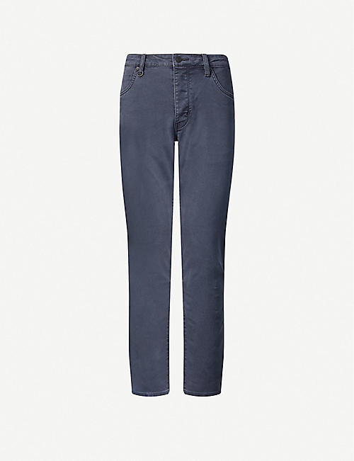 NEUW: Lou straight stretch-denim jeans