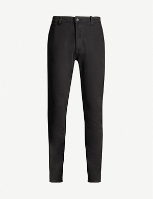 NEUW Relaxed stretch-cotton utility trousers