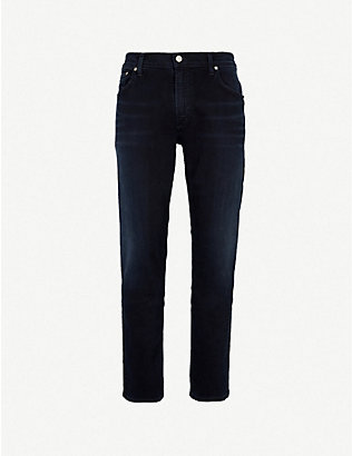 CITIZENS OF HUMANITY: Bowery slim-fit straight stretch-denim jeans