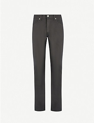 CITIZENS OF HUMANITY: Bowery slim-fit stretch-cotton trousers