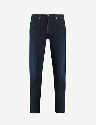CITIZENS OF HUMANITY: London tapered stretch-denim jeans