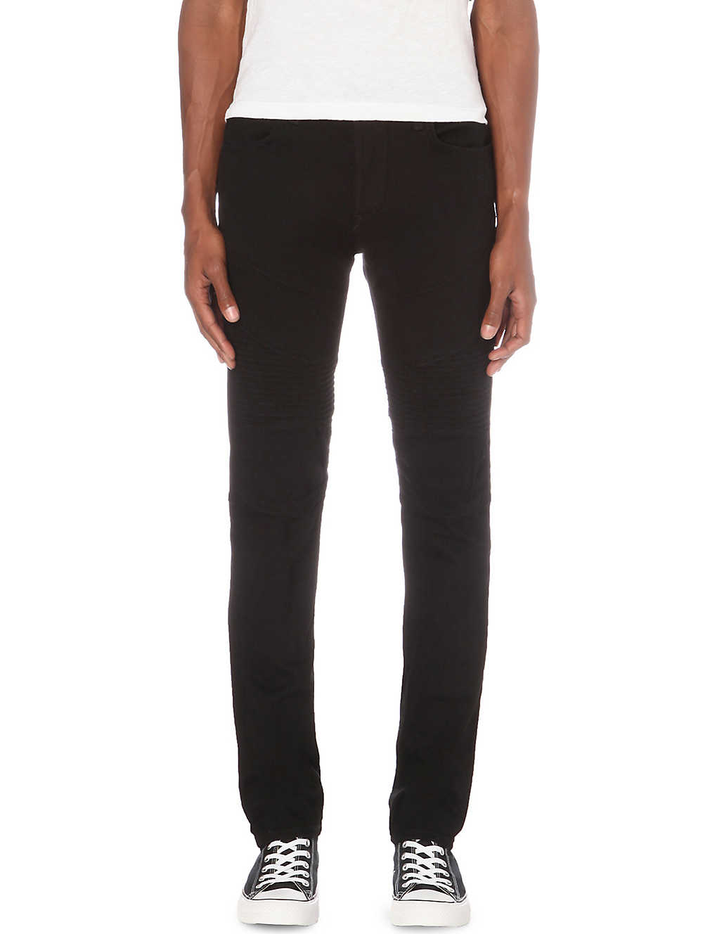 06eff36f8f9c TRUE RELIGION - Rocco Motto relaxed-fit skinny jeans | Selfridges.com