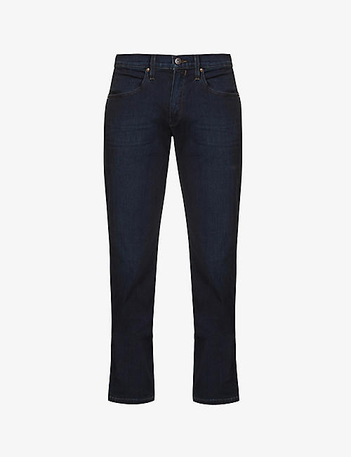 PAIGE: Normandie straight jeans