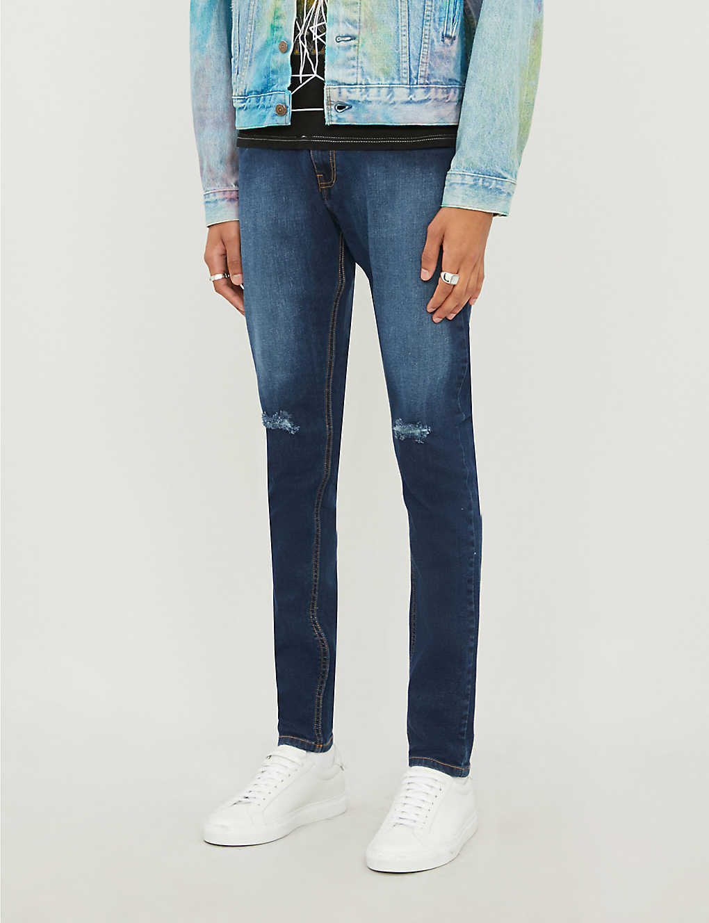 NO.91: Ripped skinny jeans