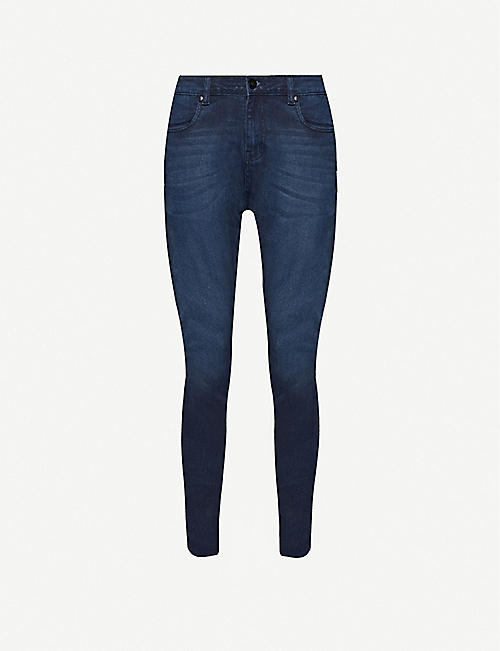 NO.91 Super Skinny slim-fit jeans