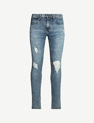 J BRAND Mick skinny stretch-denim jeans