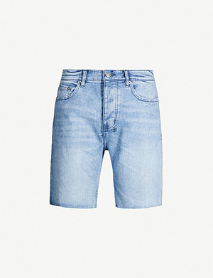 KSUBI Chopper slim-fit stretch-denim shorts
