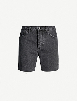 KSUBI Dagger Dan cut-off denim shorts