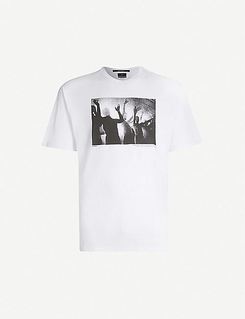 KSUBI Dancers-print cotton-jersey T-shirt