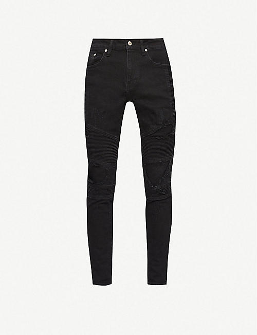 REPRESENT Biker tapered jeans