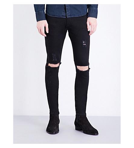 29421d9e5734 ... REPRESENT Destroyer skinny stretch-denim jeans (Black. PreviousNext