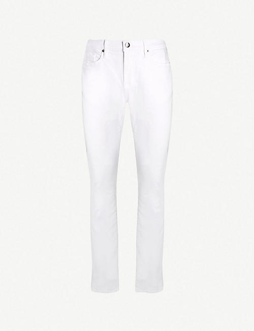 07dc8703caa4 FRAME L Homme faded slim-fit straight-leg jeans