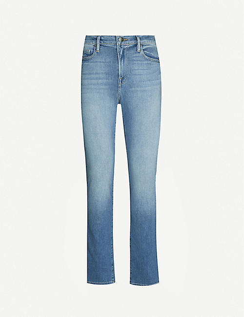 FRAME L'Homme slim stretch-denim jeans