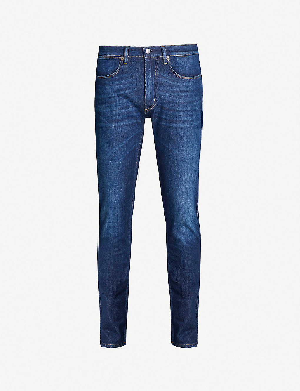 ACNE STUDIOS: Max faded regular-fit straight jeans