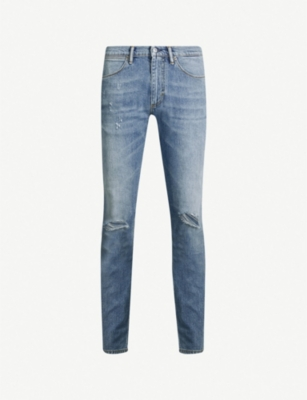 ACNE STUDIOS Max ripped regular-fit straight jeans