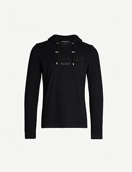 3761f7b29c BALMAIN - Hoodies - Tops & t-shirts - Clothing - Mens - Selfridges ...