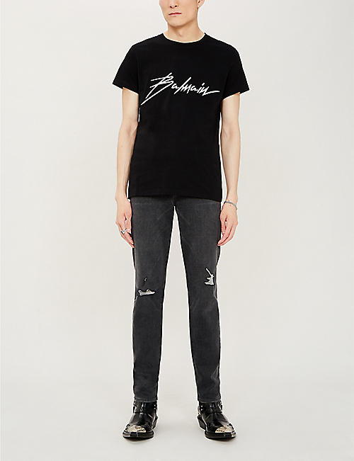 e1e40d528 Balmain Men's - T-shirts, Jeans, Jumpers & more | Selfridges