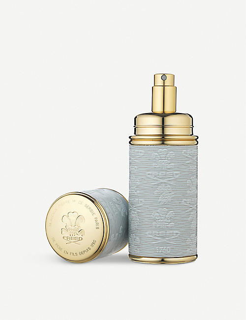 CREED: Gold-toned leather atomiser 50ml