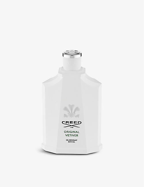 CREED: Original Vetiver body wash 200ml