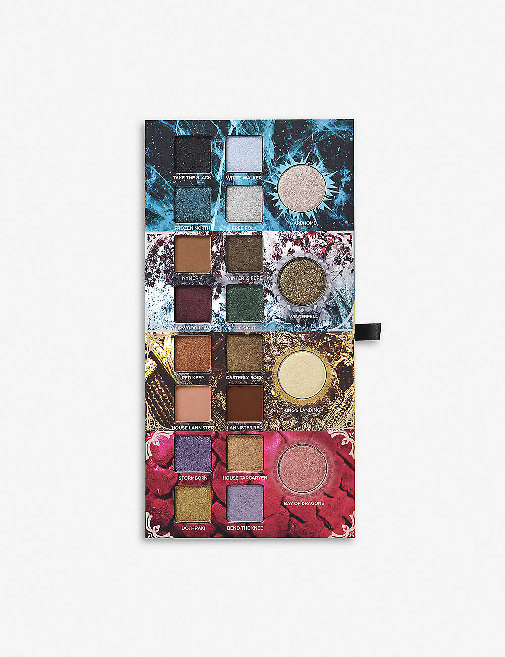 Game of Thrones eyeshadow palette ...