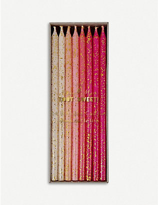 MERI MERI: Toot Sweet birthday candles pack of 24