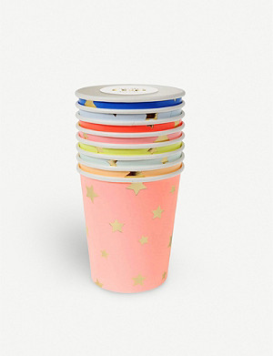 MERI MERI Star paper cups pack of eight
