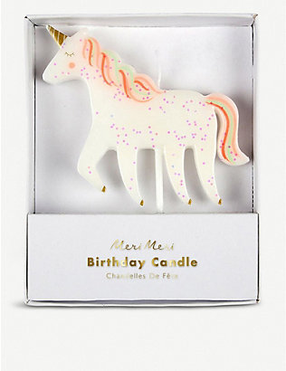 MERI MERI: Unicorn candle