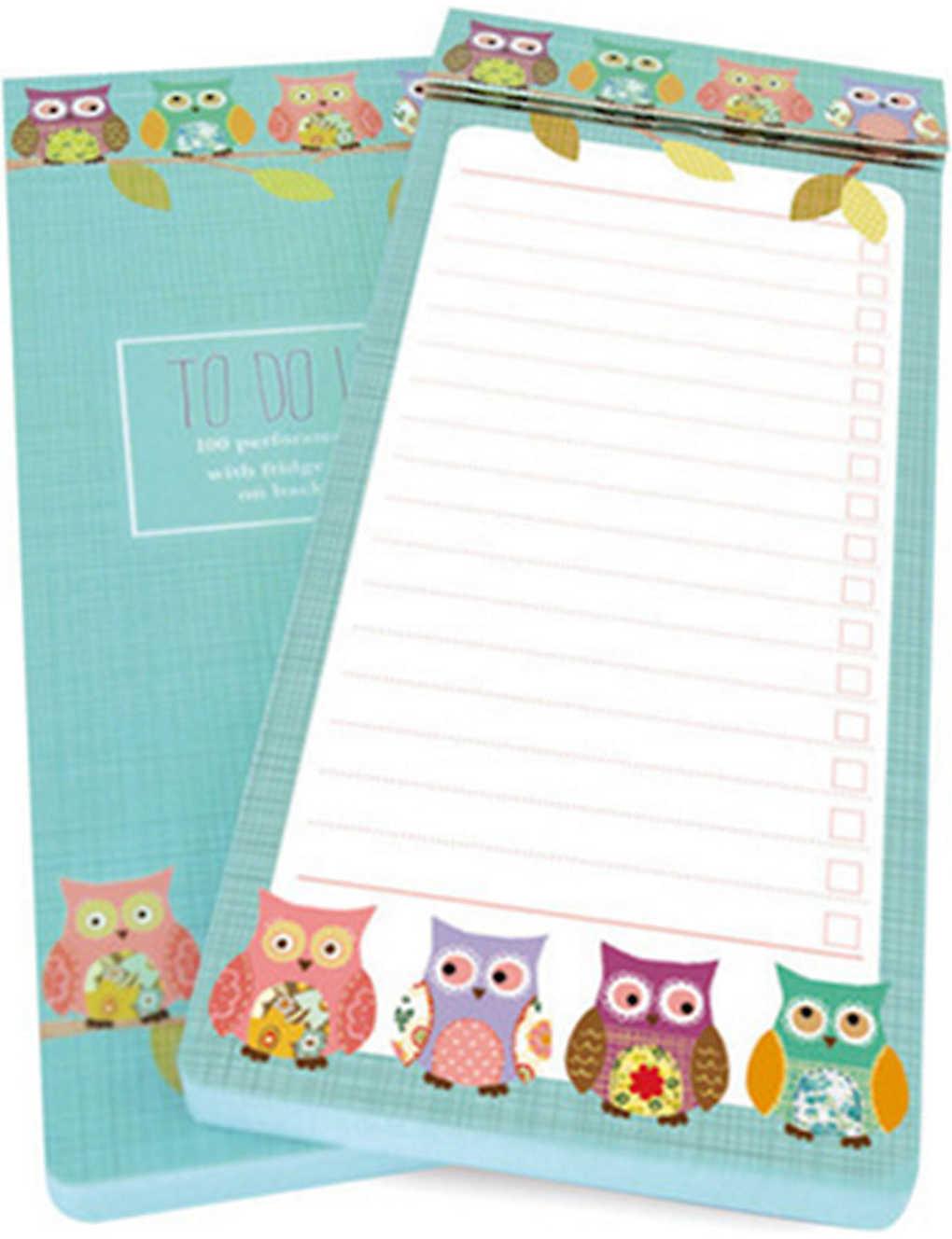 GO STATIONERY - Owls To Do list pad | Selfridges com