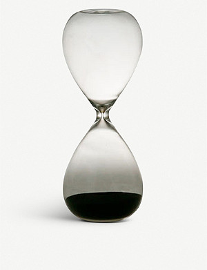 HIGHTIDE Hourglass glass timer 22.5cm