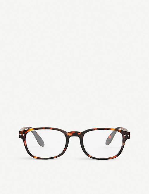 1e58ccc1750 IZIPIZI  B tortoise reading glasses +1.00