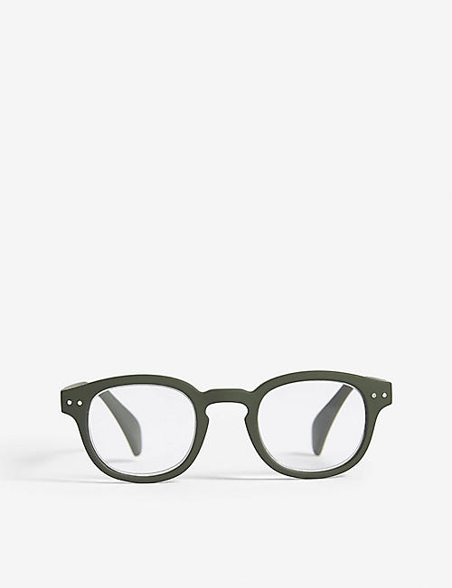 IZIPIZI: LetMeSee #C oval-shaped reading glasses +2.50