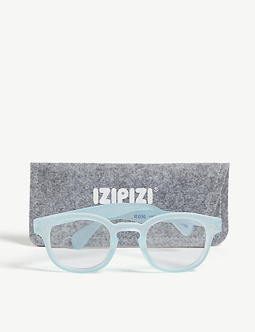IZIPIZI #C Reading square-frame glasses +1.5