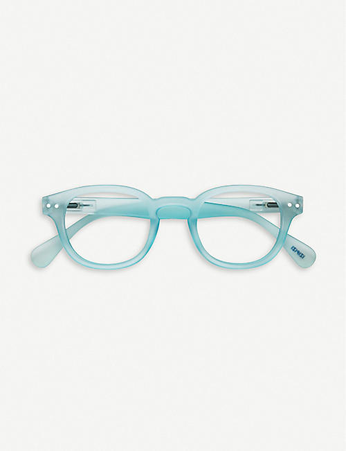 IZIPIZI #C Reading round-frame glasses +3