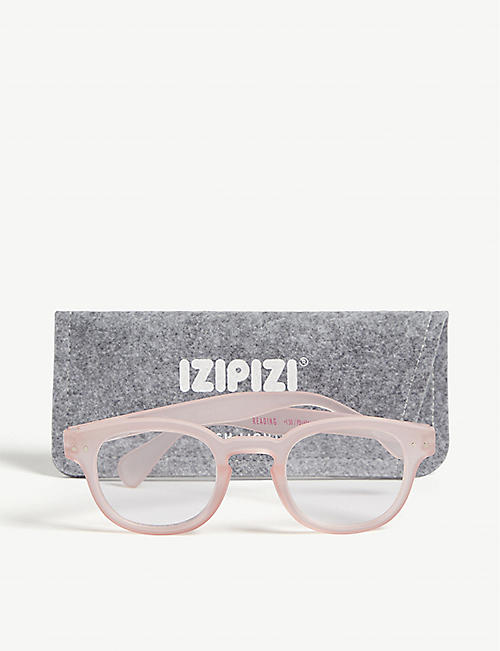 IZIPIZI #C Reading square-frame glasses +3