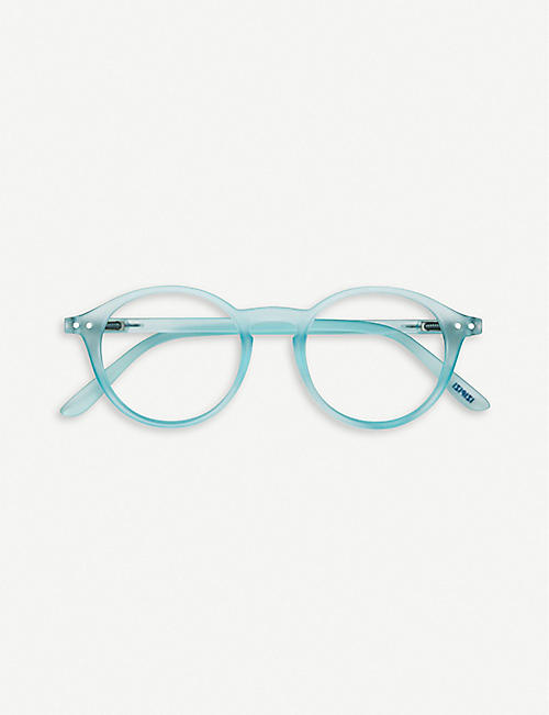 IZIPIZI #D Reading round-frame glasses +2