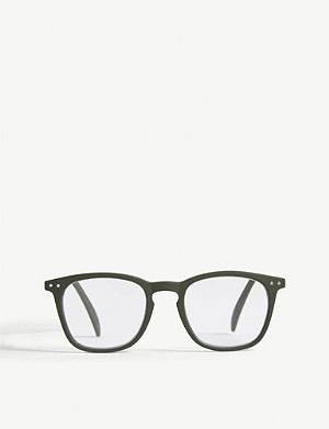 IZIPIZI LetMeSee #E wayfarer reading glasses +2.00