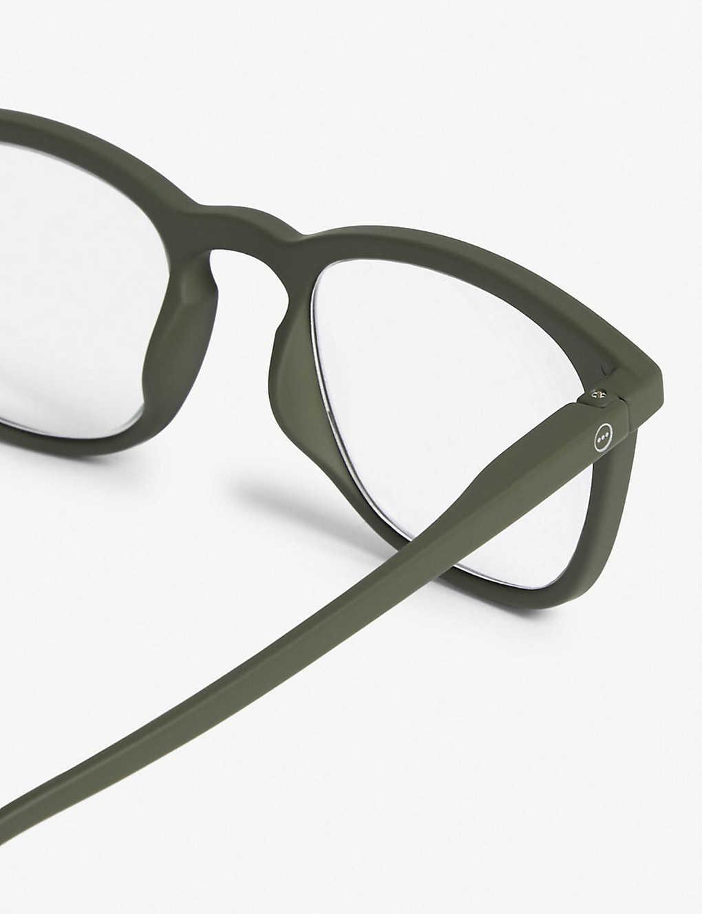 fa14a76999 IZIPIZI - LetMeSee  E wayfarer reading glasses +3.00