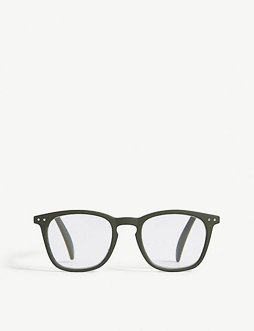 IZIPIZI LetMeSee #E wayfarer reading glasses +3.00