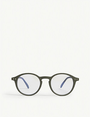 IZIPIZI #D Screen round-frame glasses