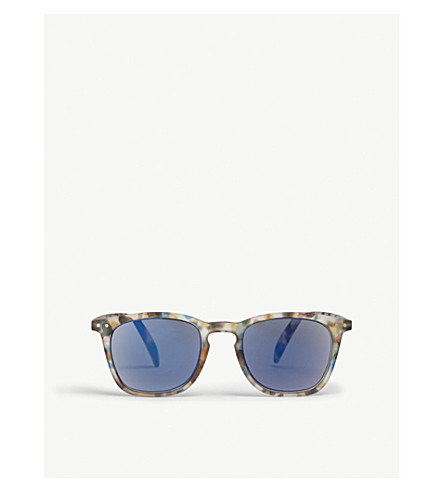 505f516a59fa8 IZIPIZI - SUN  E tortoiseshell polarized wayfarer sunglasses +2.50 ...