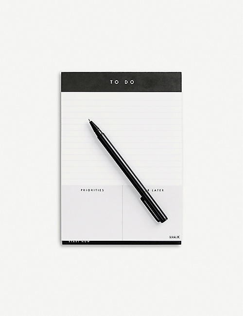 KIKKI.K To do list A5 paper pad