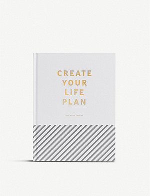 KIKKI.K Create Your Life Plan journal 25cm x 19cm