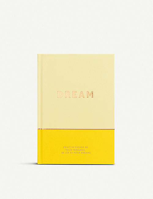 KIKKI.K Dreams Journal: Inspiration 21.7cm x 15.4cm
