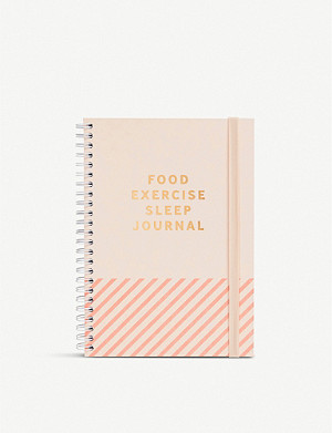 KIKKI.K Food, exercise, sleep A5 journal