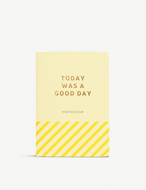 KIKKI.K Today Was a Good Day notebook 13cm x 9cm