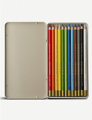 PRINT WORKS: L'artiste colour pencils set of 12
