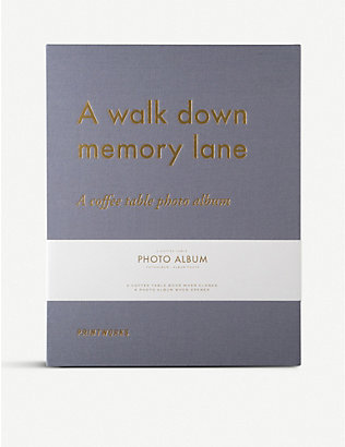 PRINT WORKS: A Walk Down Memory Lane photo album