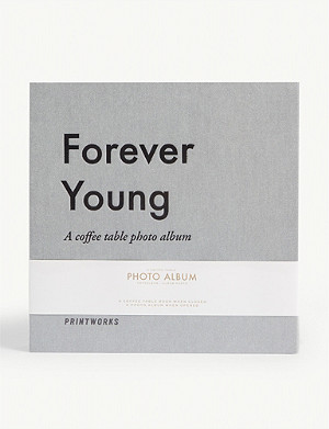 PRINT WORKS Forever Young coffee table photo album 19.5cm x 20cm