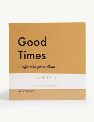PRINT WORKS Good Times coffee table photo album